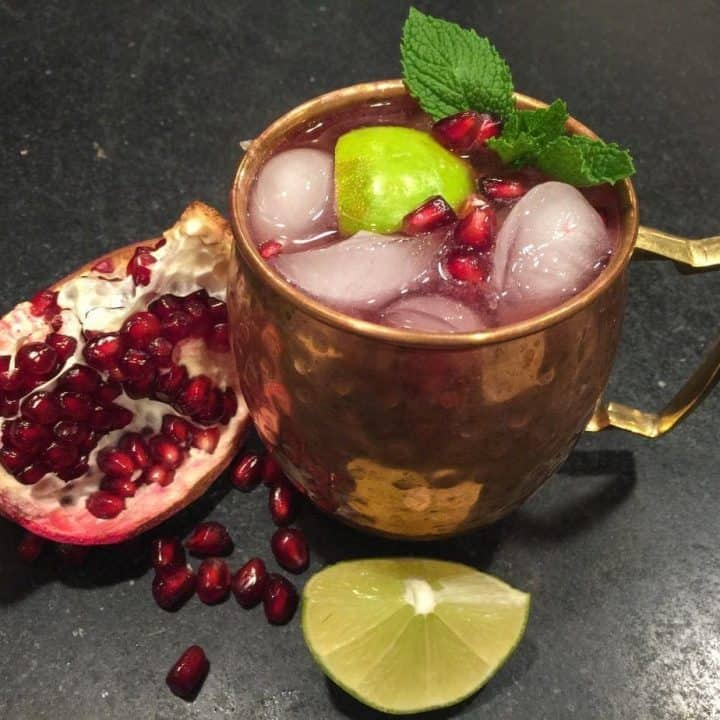 Pomegranate Mule