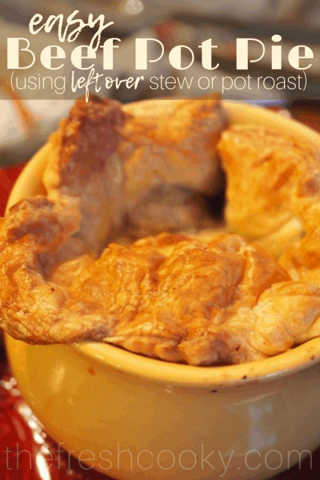 Easy Beef Pot Pie | www.thefreshcooky.com