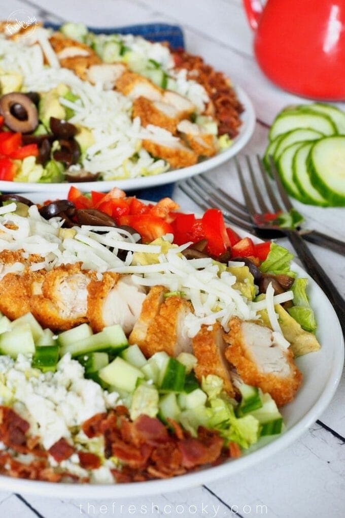 Easy & Healthy Cobb Salad