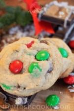 Soft & Chewy m&m Chocolate Chip Cookies