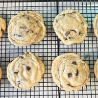 The Best Chewy Chocolatey Chocolate Chip Cookies