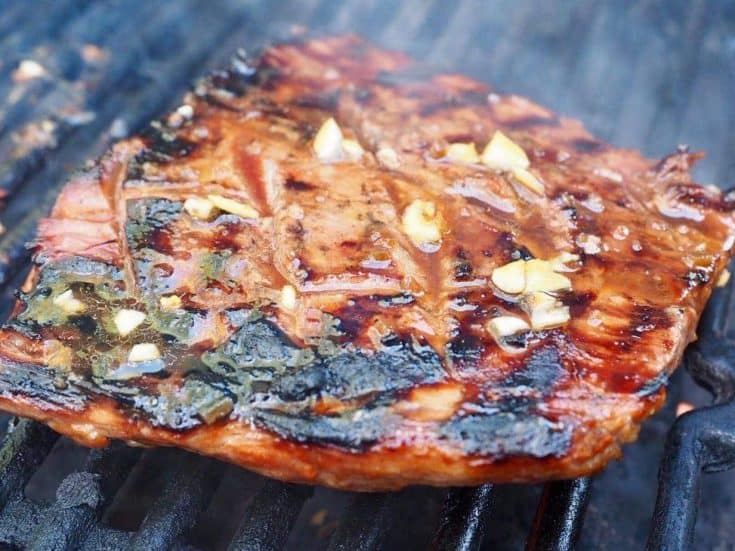 Nana & Papa's Famous Flank Steak Marinade