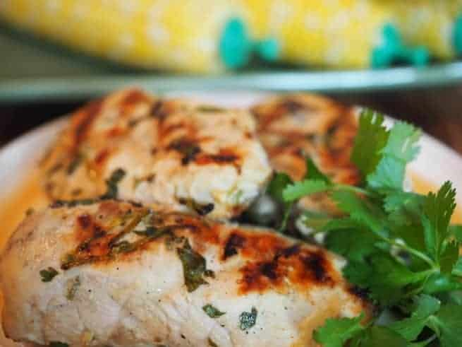 Coconut Lime Chicken | www.thefreshcooky.com
