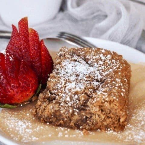 Gluten Free Coffee Cake | Ugly Coffee Cake