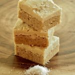 Browned Butter Sugar Cookie Bars with Salted Caramel Frosting