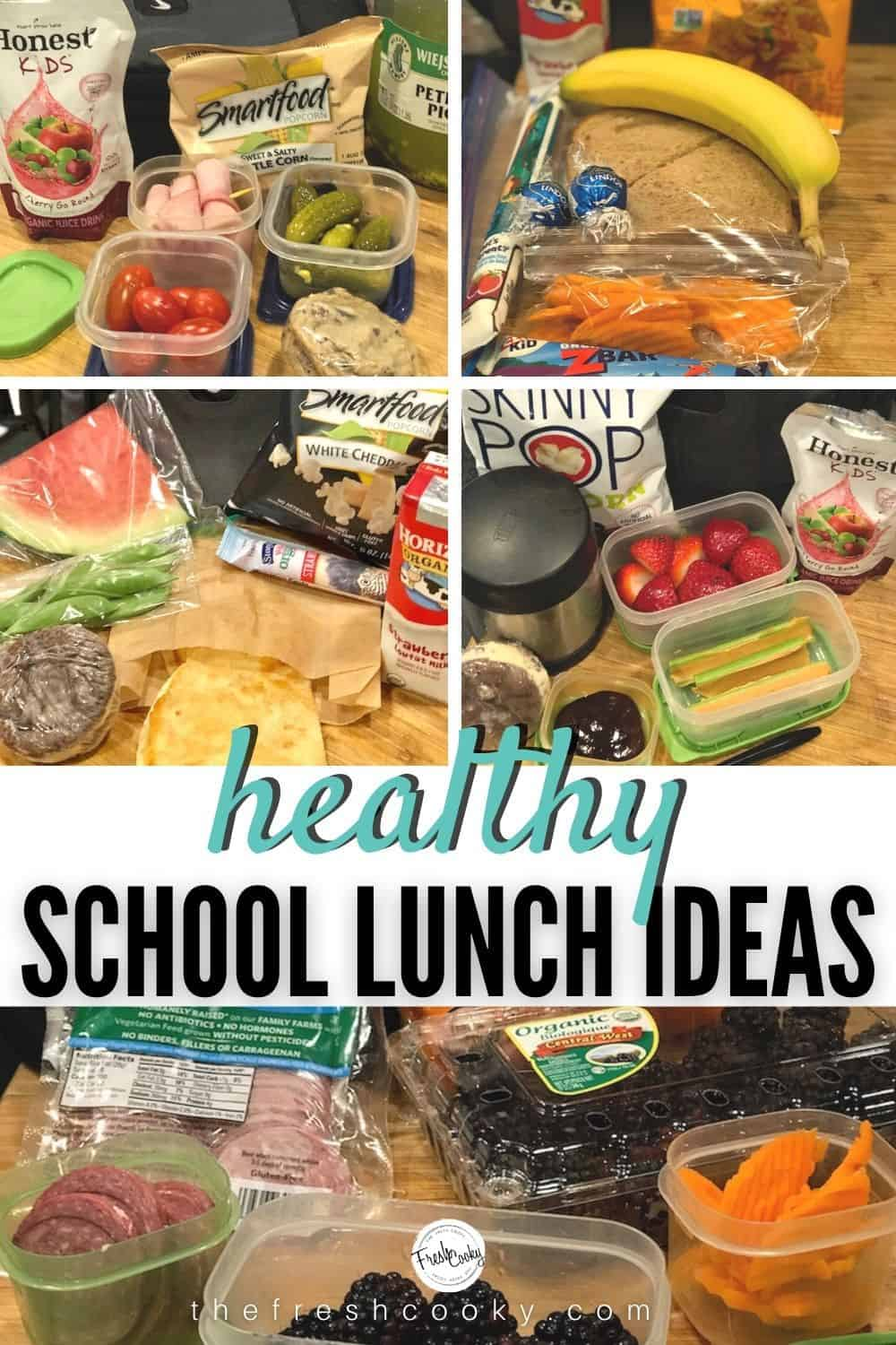 Start Back-to-School with fresh new lunch box ideas! Whether you homeschool or send to school or even unschool! For traditional and non-traditional eaters, you get gain several new ideas for your kids lunch boxes this back-to-school season. Recipes and ideas via @thefreshcooky | #lunchideas #schoolunch #kidslunch #lunch  #homeschool #lunches #tweens #teens #elementary via @thefreshcooky