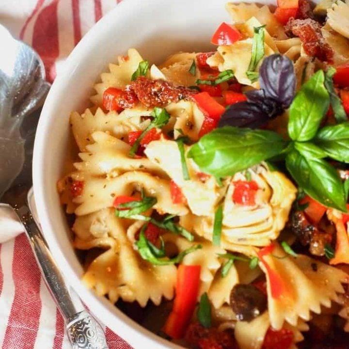 Sun-Dried Tomato Pasta Salad