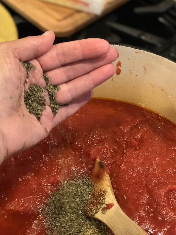 Grandpa Frank's Secret Spaghetti Sauce #spaghettisauce #redsauce #secret #familyrecipe #pasta