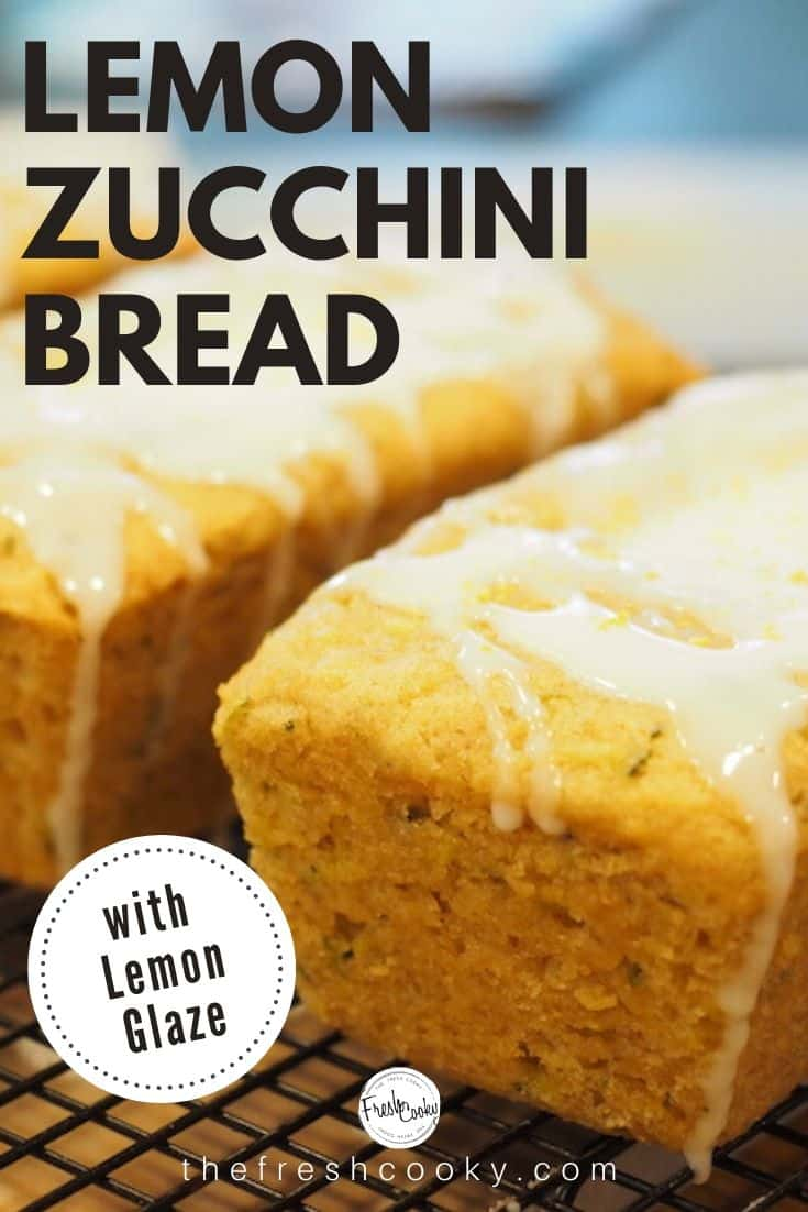 A must make during zucchini season! Lemon Zucchini quickbread is a moist and delicious breakfast or brunch bread. #lemon #zucchinibread #quickbread #lemonbread #easyrecipe #allnatural #thefreshcooky #neighborgifts #lemonrecipe #zucchinirecipe #altitudebaking #brunchrecipes #breakfastrecipes #quickbreadrecipe #healthyrecipe via @thefreshcooky