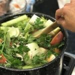 Homemade Vegetable Mineral Broth