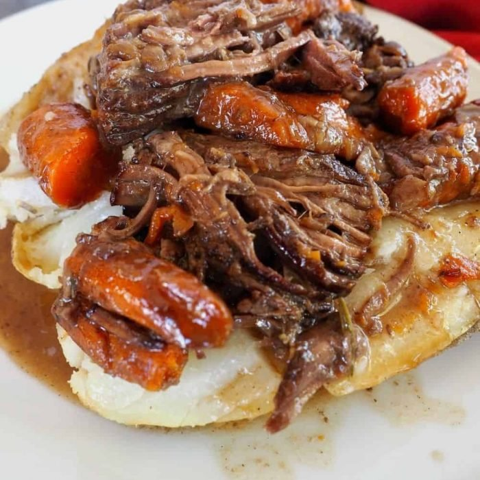 Bread and Butter Pot Roast