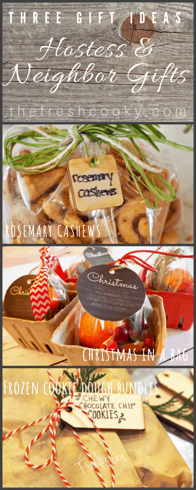 Hostess & Neighbor Gift Ideas | www.thefreshcooky.com