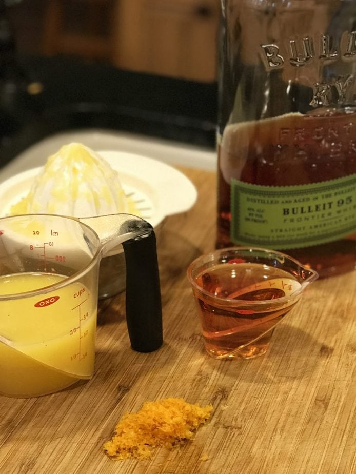 Orange Juice and Whiskey | Thanksgiving Praline Yams
