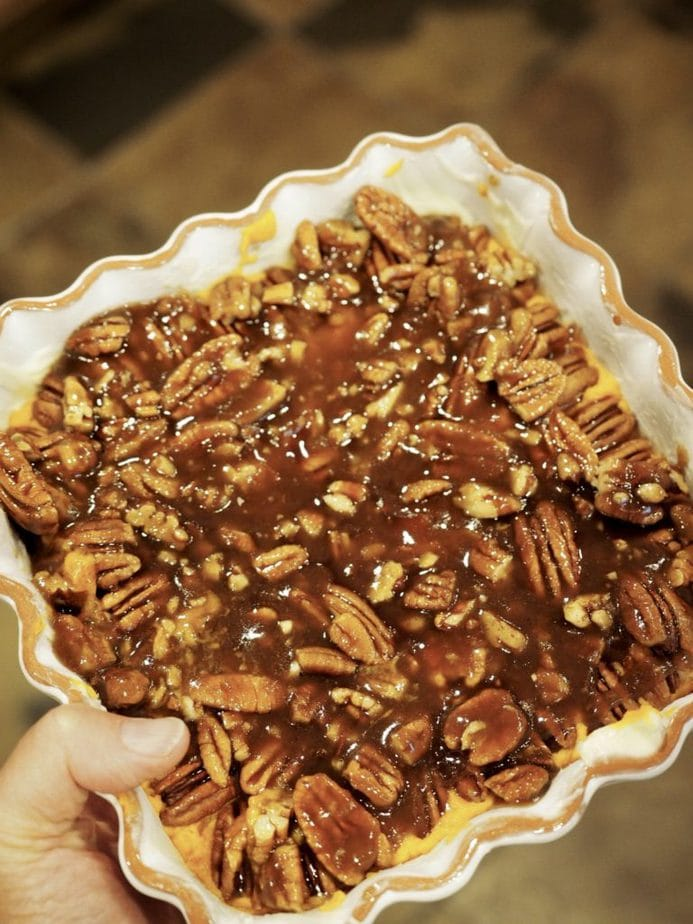 Thanksgiving Praline Yams