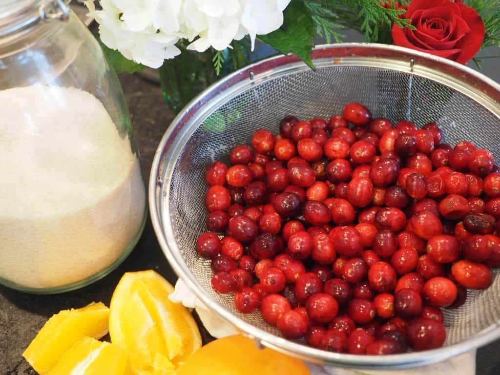 Cranberries for Relish