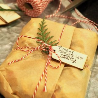How to Package Cookie Dough as Gifts | www.thefreshcooky.com