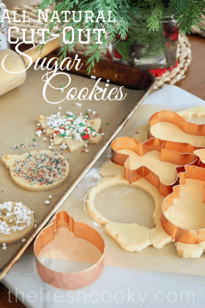 All Natural Sugar Cookies | www.thefreshcooky.com