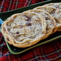 Giant Chewy Chocolate Chip Cookies with Fleur de Sel