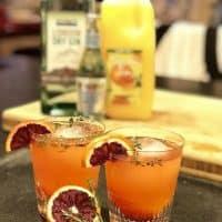 Blood Orange Tangerine Thyme Gin & Tonic