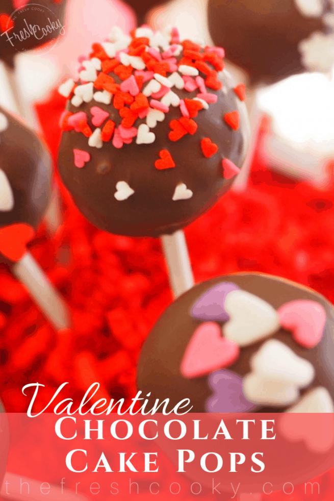 Valentine Cake Pops | www.thefreshcooky.com