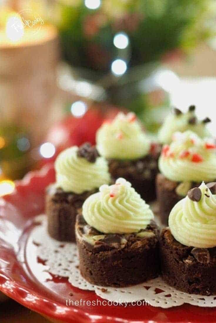 Andes Mint Fudge Brownies
