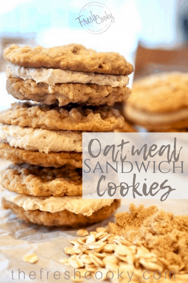 Oatmeal Sandwich Cookies | www.thefreshcooky.com