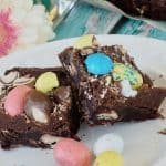 Robin Egg Easter Brownies | www.thefreshcooky.com #brownies #robineggbrownies #whopperbrownies