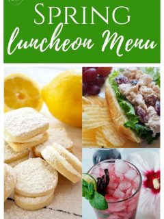 Spring Luncheon Menu