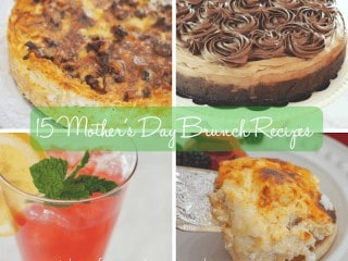 15 Mother's Day Brunch Recipes | www.thefreshcooky.com #mothersday #brunch #recipes