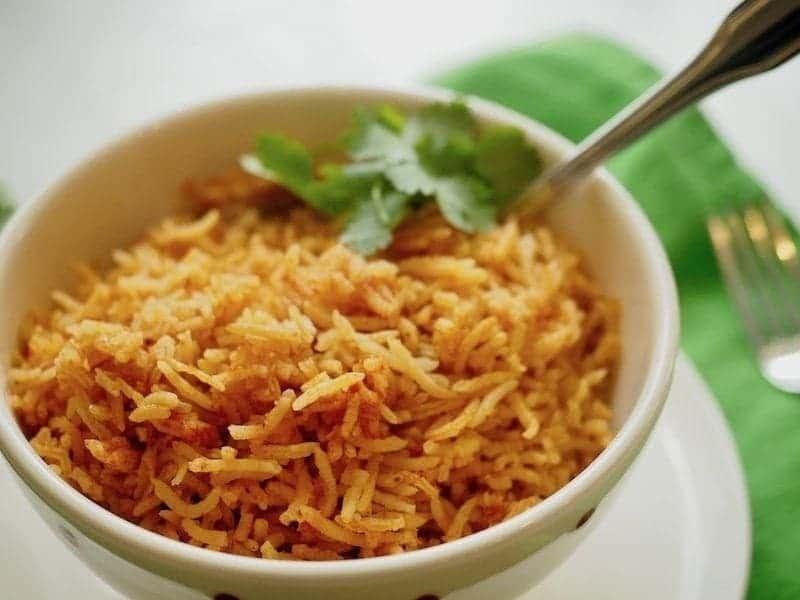 Spanish/Mexican Rice | www.thefreshcooky.com #mexicanrice #spanishrice #mexican #rice