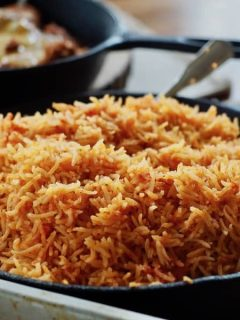 Spanish/Mexican Rice | www.thefreshcooky.com #mexicanrice #spanishrice #mexican