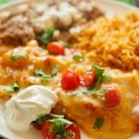 Cheese Enchiladas (The Cheesiest)