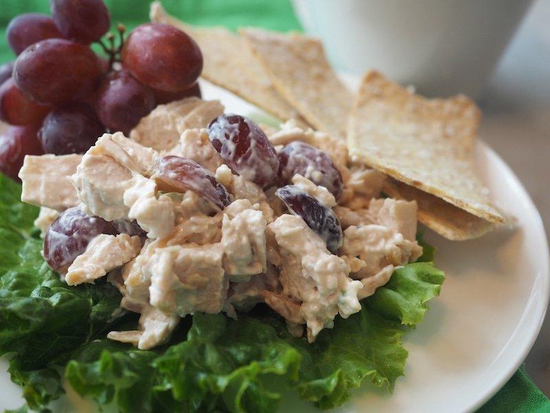 Sherried Chicken Salad | www.thefreshcooky.com