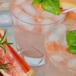 Grapefruit Basil Vodka Smash
