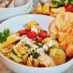 Grilled Chicken Shawarma Bowl #thefreshcooky #chicken #shawarma #chickenshawarma #mealprepideas #easy #healthyrecipe #dinnerrecipes