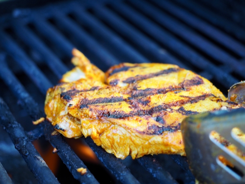 Chicken Breast with grill marks | www.thefreshcooky.com