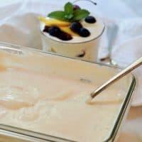 Homemade Creamy Greek Yogurt
