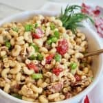 Bacon Balsamic Macaroni Salad