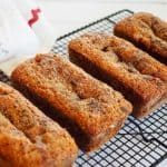 Moist Banana Graham Oat Bread