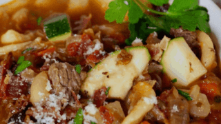 The Best Bacon Beef Minestrone