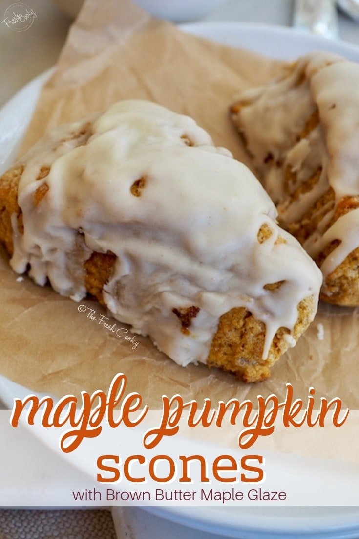 Pin for Maple Pumpkin Scones   The Fresh Cooky