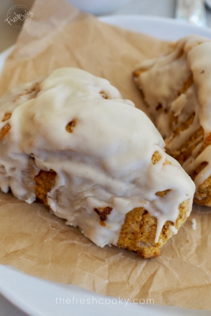 Picture of a Maple Pumpkin Scone | The Fresh Cooky