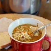 Old-Fashioned Chicken Noodle Soup
