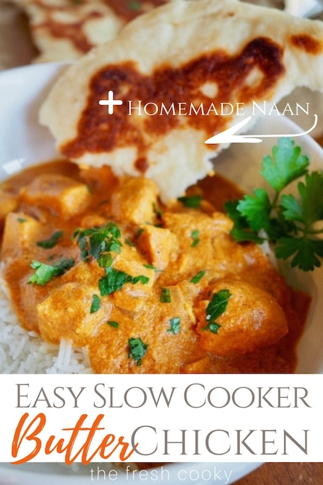 Easy Crockpot Butter Chicken The Fresh Cooky