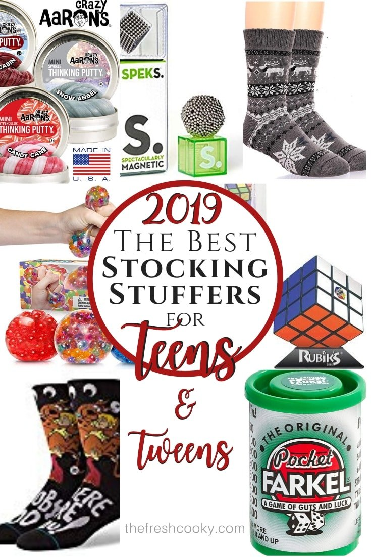 stocking stuffer ideas pin for 2019 via @thefreshcooky