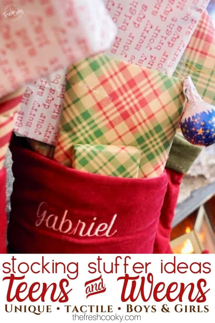 Stocking Stuffers for Teens and tweens | www.thefreshcooky.com