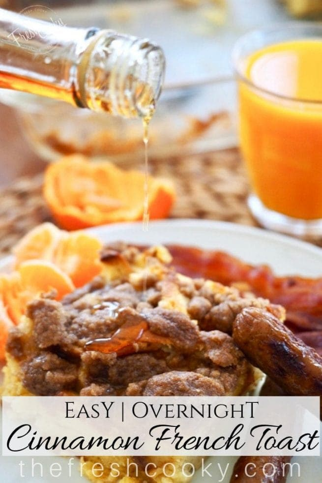 Overnight French Toast | www.thefreshcooky.com
