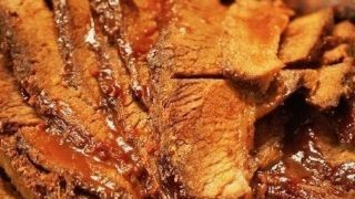 Oven Baked Barbecue Beef Brisket