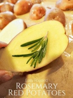 Roasted Red Potatoes | www.thefreshcooky.com