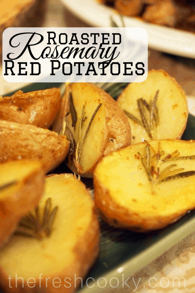 Roasted Rosemary Red Potatoes | www.thefreshcooky.com